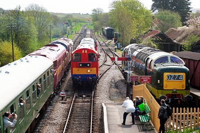 This shot has types 1, 2, 3, and 5 all together. Shame there wasn't a class 47 or class 50 for a type 4.