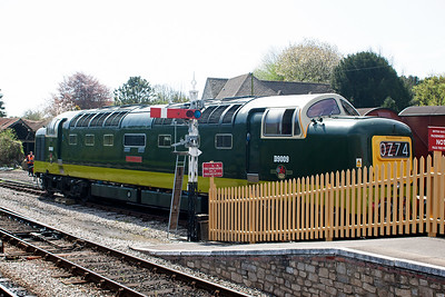This mainline registered loco was the convoy motive power but was not rostered to run sadly.