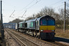 "DRS are still using pairs of 66s on the heavy ""Tescos Express"".  66433 and 66429 are on 4S 43 on 113 April 2013 at balshaw lane Jct."
