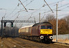 47826 powers past Winwick with 5Z75 Carnforth-derby ECS move 29 March 2013