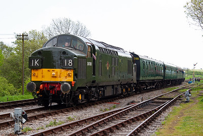"""The first coach in the rake is a Bulleid composite brake vehicle and was the first coach to carry passengers on the fledgling Swanage Railway when in late August 1979 diesel shunter """"May"""" pushed it to the end of the Swanage Council yard and back to a scaffold platform on the shed side of Northbrook Road bridge twice. John Horrocks was the guard, Geoff Pitman was the driver and I was the secondman on that historic day."""