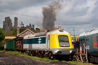 More clag from 41001 means just one thing.......money has changed hands and a finger has pressed the start button. The overhauled Paxman Valenta powerunit is starting with ease and is NOT the original one for this vehicle.