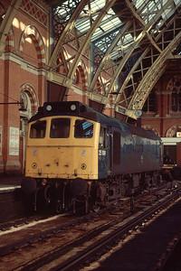 25199 at St Pancras 6/7/85