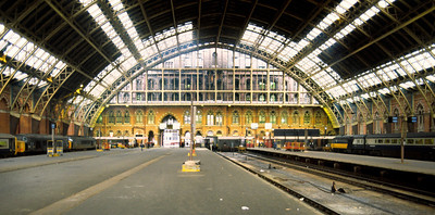 St Pancras Station 2/3/85