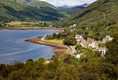 At the north end of the loch is the village of Arrochar.