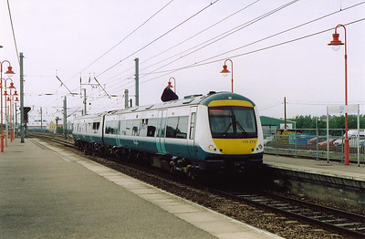 Obsolete Anglia livery adourns 170273 as it runs in with the 1042 Ipswich to Peterborough working.