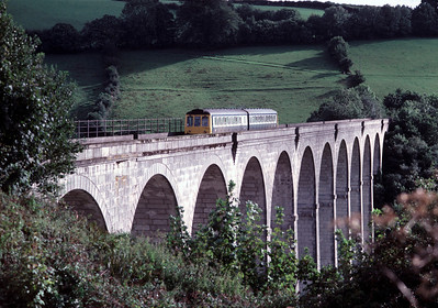 51315 51324 crossing Calstock Viaduct	5/9/85