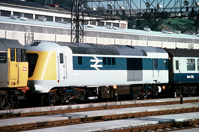 Also at Laira was prototype HST power car 41001 6/9/85