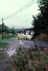 The closed  Wenfordbridge branch at the terminus 3/9/85