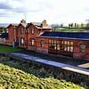 """Ballyroney railway station, County Down<br /> <br /> <a href=""""http://en.wikipedia.org/wiki/Ballyroney_railway_station"""">http://en.wikipedia.org/wiki/Ballyroney_railway_station</a>"""