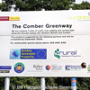 The former main line between East Belfast and Comber is now a public footpath known as 'Comber Greenway'.