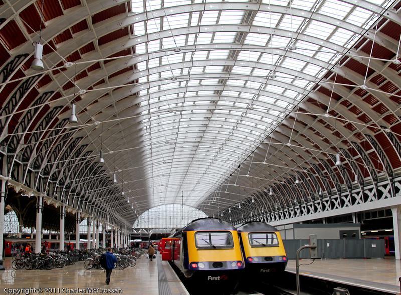 London Paddington Train shed roof