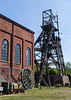 The 98ft high head gear made by head Wrightson of Stockton on Tees in 1911  is listed but now badly in need of repair.   It was retained following closure of the colliery in 1970