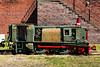 """This 2'6"""" guage hunslet flameproof diesel"""