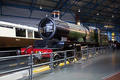 """4003 """"Lode Star"""" is the sole surviving example of G J Churchward's successful class 4000 Star 4-6-0.  73 examples were built at  Swindon Works and this one was withdrawn in 1951 having run just over 2 million miles."""