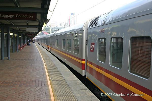 Railways around Brisbane