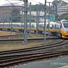 Roma Street station - Tilt Train turning on triangle