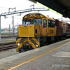 Roma Street station - Sundowner arriving (from opposite direction to what was expected!) Loco 2392 leading