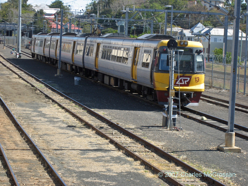Electric Unit at Ipswich (outside Brisbane) station