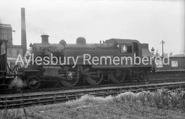 41222 at Aylesbury High Street, June 1950