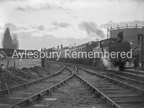 High Street Station on last day of passenger service, Jan 31 1953