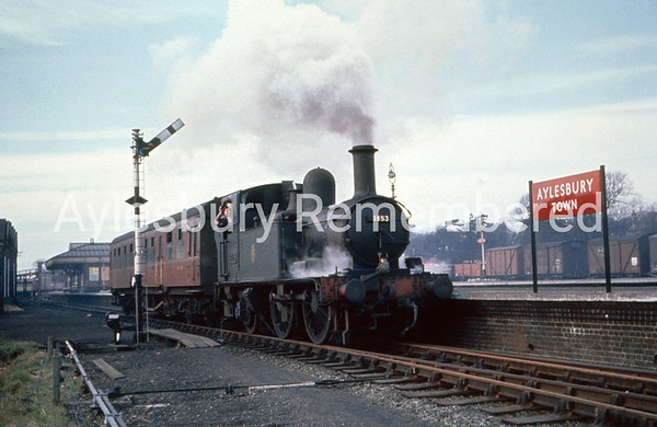 Aylesbury Town station, early 1960s
