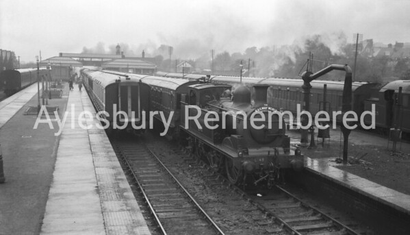 Aylesbury Town Station, May 23rd 1954
