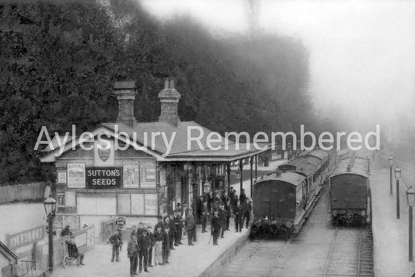 Aylesbury Town Station, 1890s