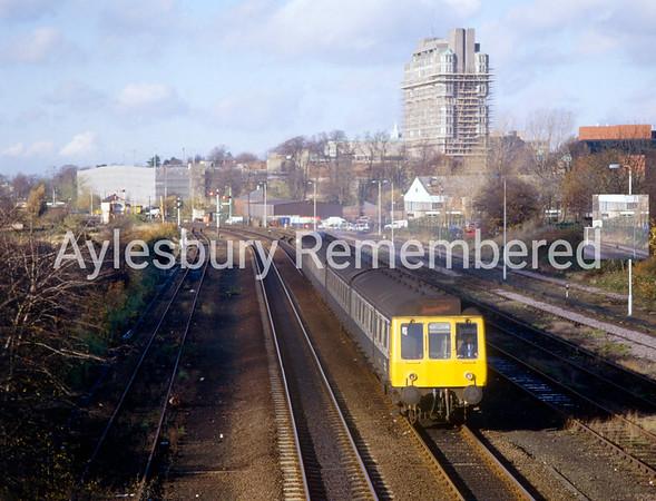 Aylesbury Station, Nov 1986