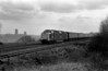 55 010 leaving Durham with Plymouth Edinburgh train 09/03/81