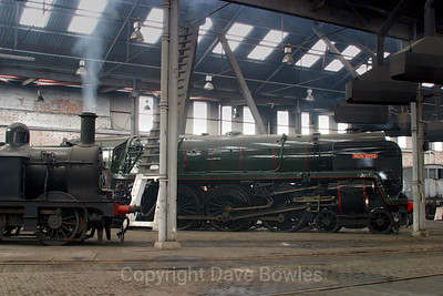 13th May 2005. Barrow hill Roundhouse.