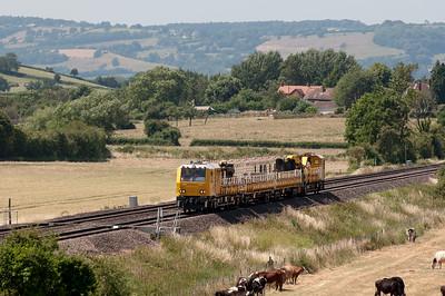 11:00 Alexandra Dock Jn. T.C. to Swindon Transfer at Churcham.