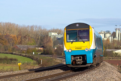 175002 with the 09:30 Manchester Piccadilly to Carmarthen service.