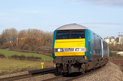 82308 leads a Rugex from Holyhead to Cardiff for the Wales vs Australia game. Final score 26 - 30.
