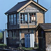 Shepreth Branch Junction Signal Box.  10th May 1980