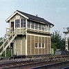 Audley End Signal Box.  31st August 1979