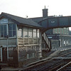 Great Chesterford Signal Box c1982