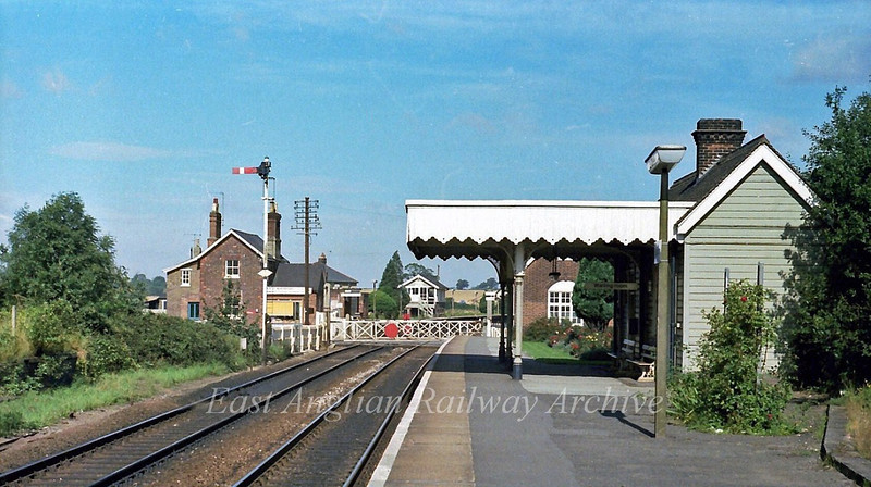 Elsenham facing North.  9th September 1978