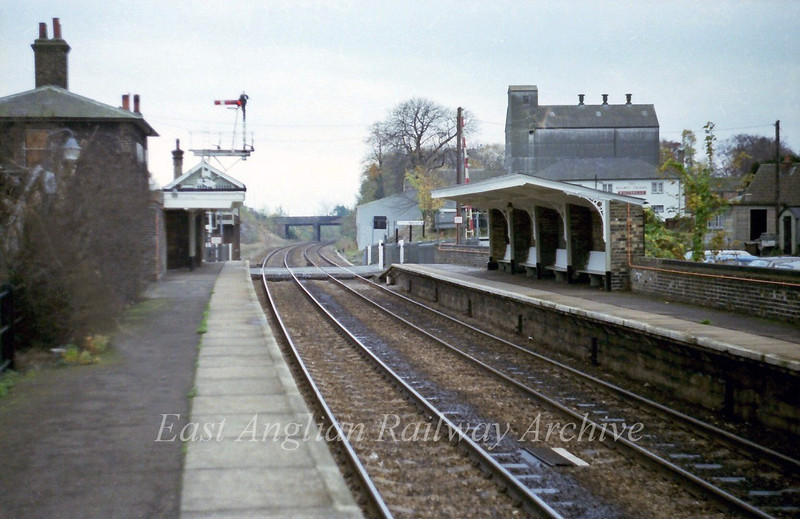 Shelford looking South. 21st November 1978
