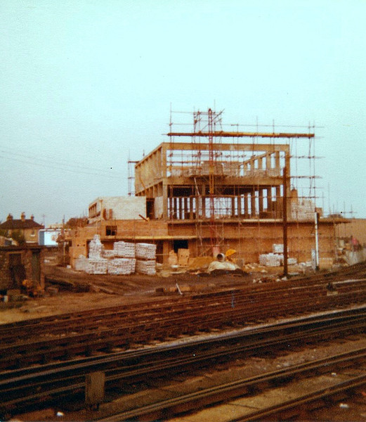 Not a brilliant shot, but it shows the construction of the Cambridge power box. c1980.