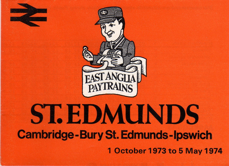 Timetable booklet from 1973/1974
