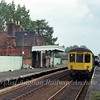The 1250 Ipswich to Cambridge stops at Thurston on 29th August 1978. The signal box in the background had just been taken out of service.