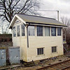 Kennett Signal Box which closed on 11th November 2011.  Image dated 31st March 2010