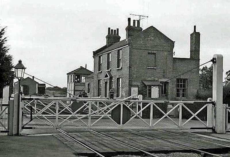 Fulbourne station house.