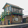 Dullingham Signal Box.  30th June 2010