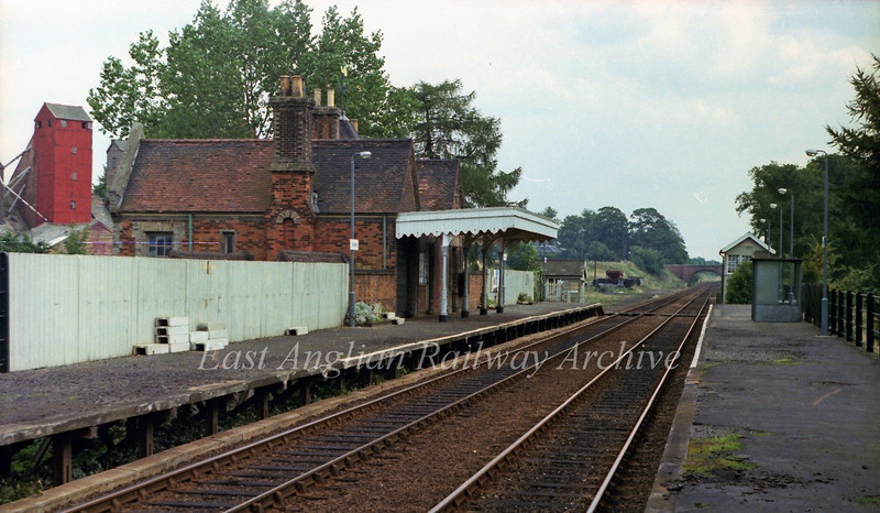 Thurston looking East. 29th August 1978