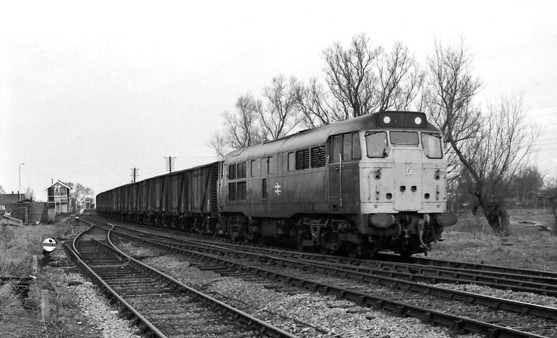 Unknown working at Littleport.