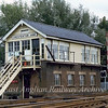 Chesterton Junction Signal Box.  22nd November 1978
