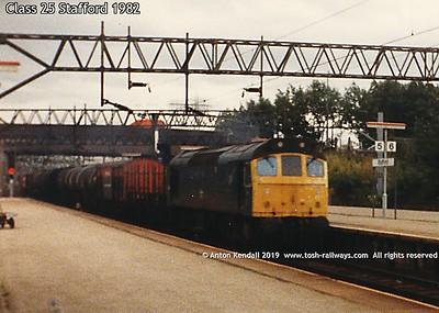 Class 25 Stafford 1982