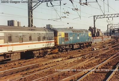 26042 Glasgow Central 0890